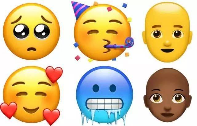苹果为庆祝emoji世界表情符号日,推出超过70个表情.图片