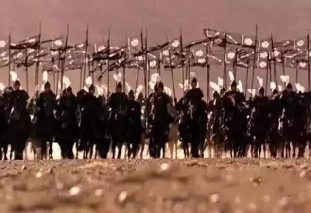 古代士兵打仗手绘