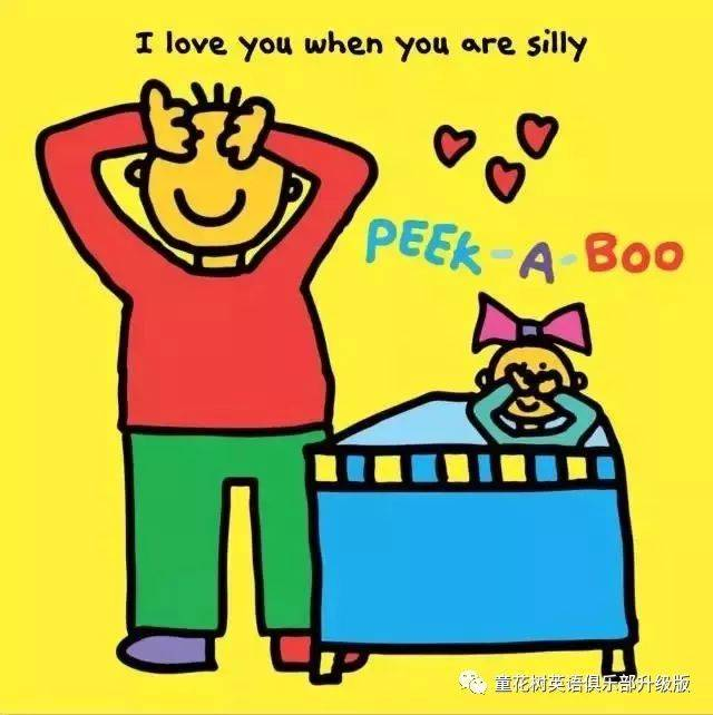 i love you when you are silly.