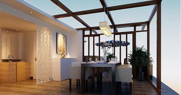旧房改造:90平两居新中式改造-绵阳装修设计-吉匠