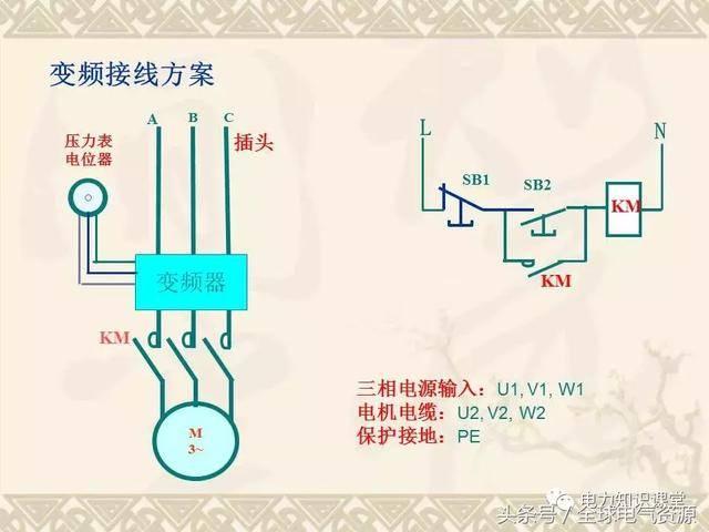 变频器原理及接线图