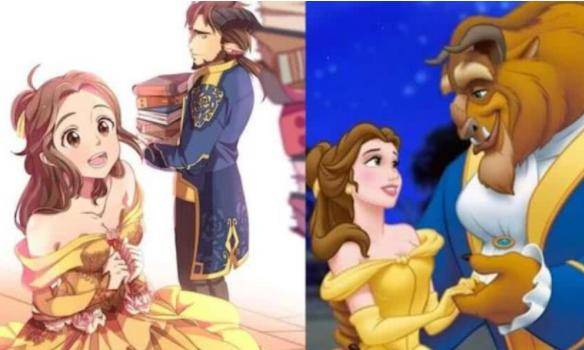 当迪士尼公主变成日系美少女,我完全被白雪公主的美折
