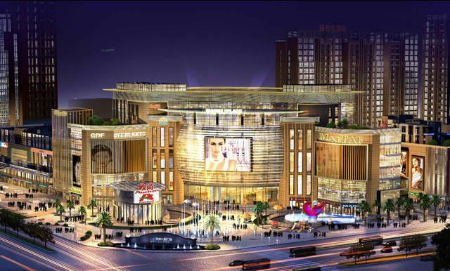 仁寿中央国际广场与太平洋购物中心举行签约仪式