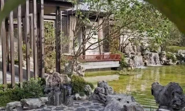 中式园林, 中国诗意生活的完美写照, 中式铺装, 用一方天地界定这一图片