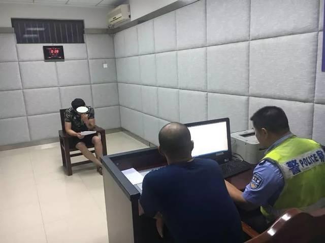 2018年7月15日晚上,海安市公安局交通警察大队高新区中队民警在海安