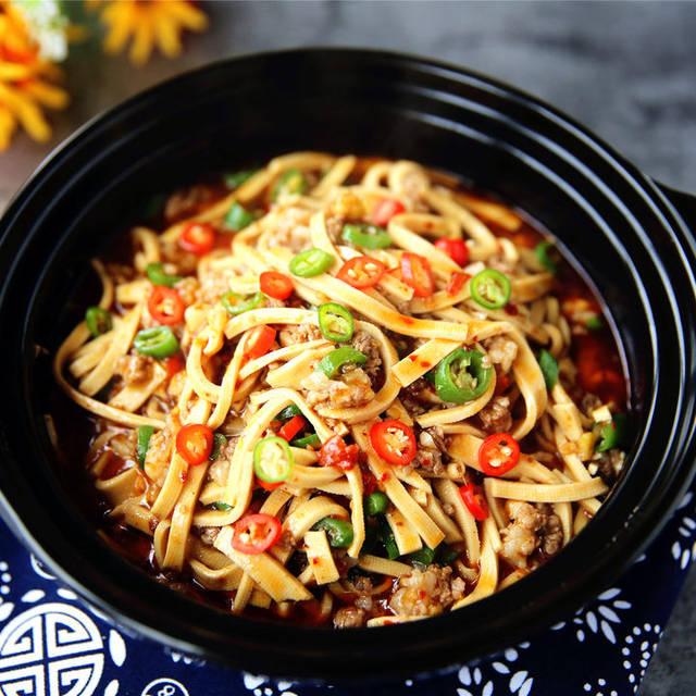 家常菜,简单美味的做法豆腐皮头像,a美味的下饭菜萌娃吃鸡翅肉末图片