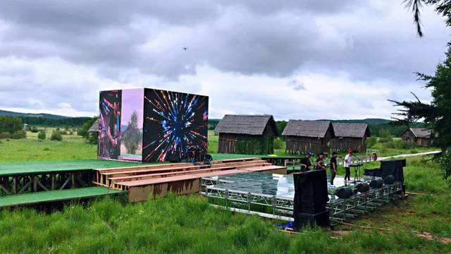 ——新时代经典作品主题专场音乐活动在塞罕坝国家森林公园七星湖景区图片