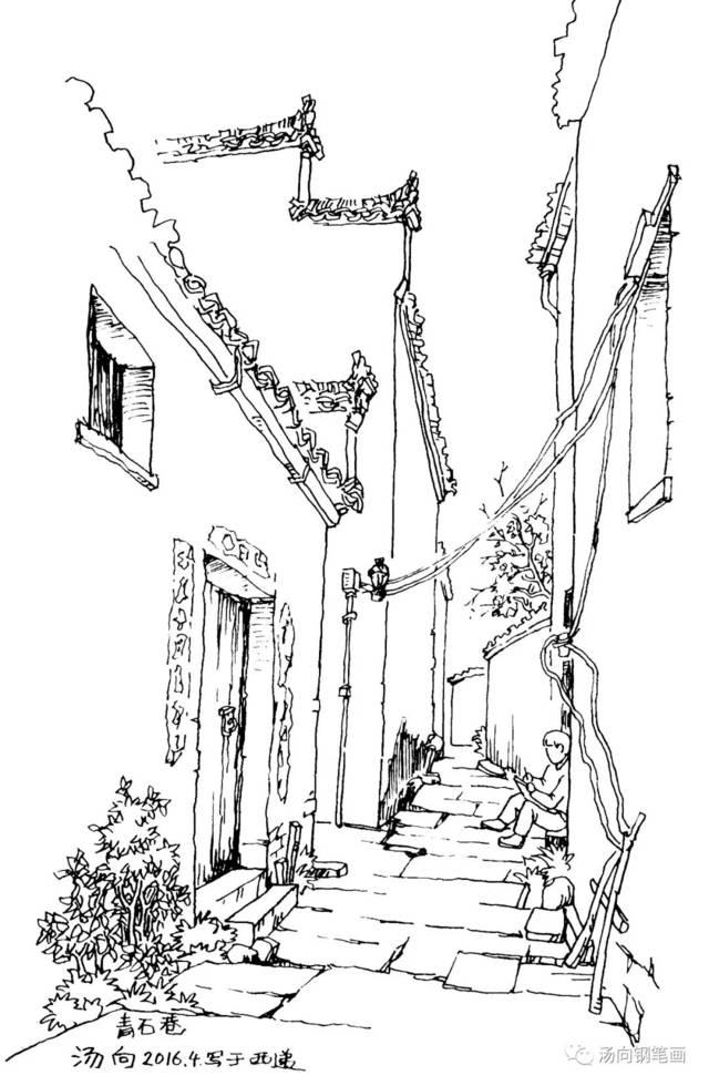 入门宝典104 钢笔画和素描,速写是什么关系?