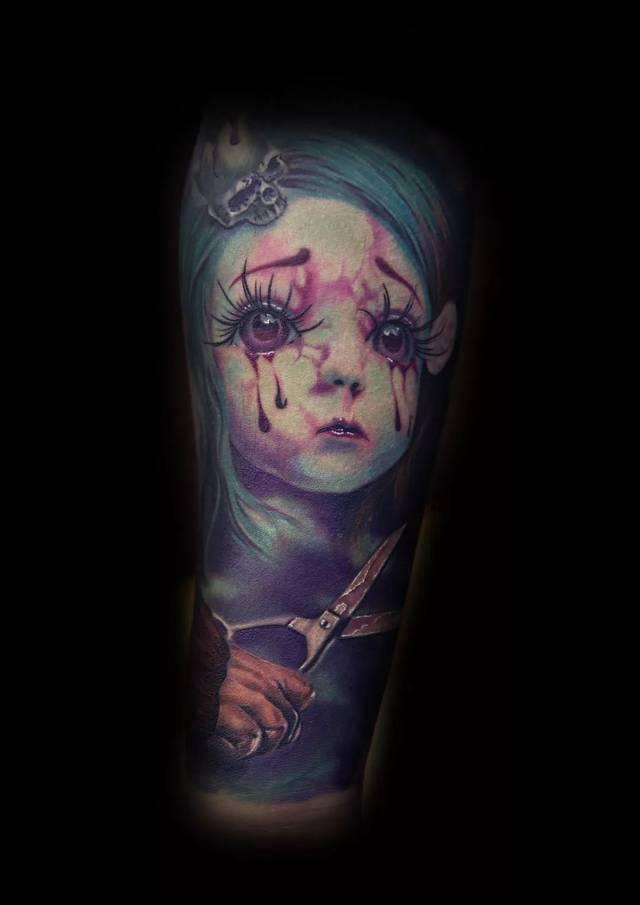 刺青 纹身 640_905 竖版 竖屏