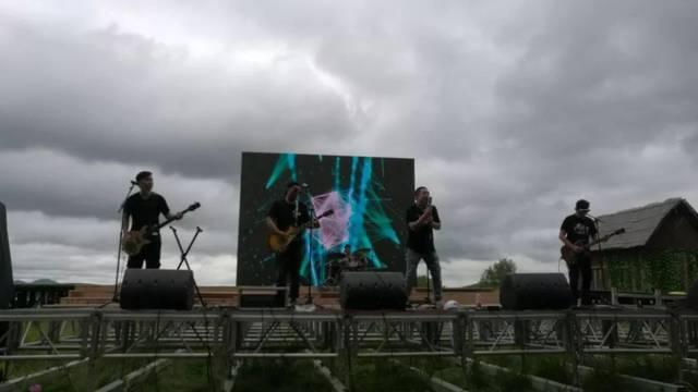 ——新时代经典作品主题专场音乐活动在塞罕坝国家森林公园七星湖景图片