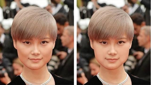 原来有这几个特征的都是假性方脸,换发型就能解决削什么脸!