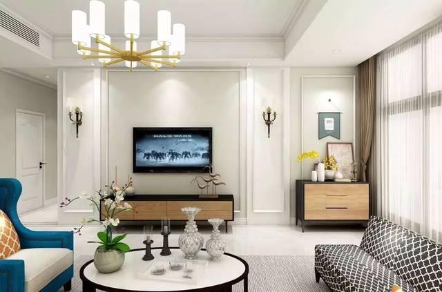 今天我们主要是看一组简约风格的电视墙设计,比较适合现代,北欧等图片