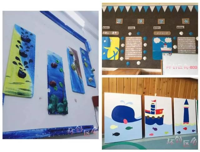 卡通风,中国风,海洋风…这6款新学期主题环创,让教室美如诗画图片