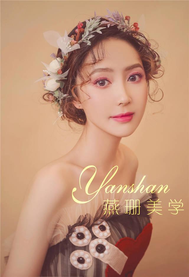 唯美新娘鲜花造型,下面和大家分享我们近期广州燕珊美学设计学院新娘图片