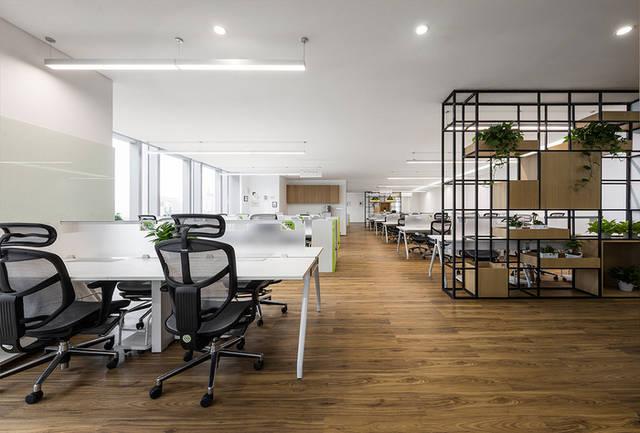 高大上流行的科技公司办公室装修效果图