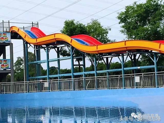 彭州大唐牡丹水上乐园 夏日避暑好去处