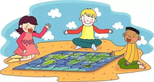 上幼儿园前,爸妈要有意识地锻炼孩子的语言表达能力,鼓励孩子主动思考图片