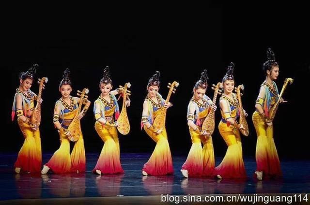 活灵活现的民族舞蹈,敦煌飞天梦(图)图片