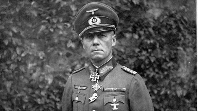 纳粹德国的陆军元帅,作为德国的南方集团军司令.
