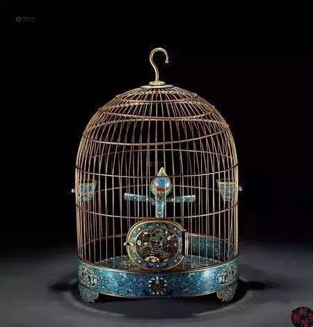 鸟笼固)�_清代鸟笼赏析:将宠物家居做到极致