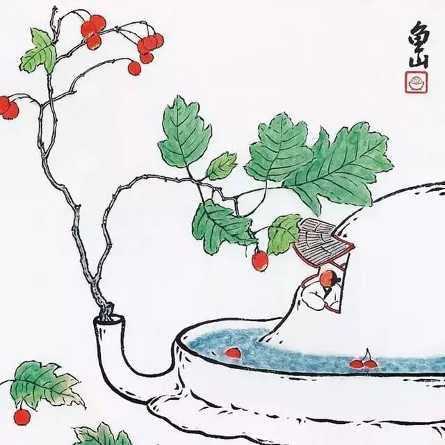 """宋代山水画名家郭熙有言:""""世之笃论,谓山水有可行者,有可望者,有可游图片"""
