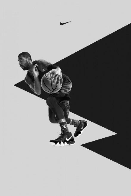 篮球巨星凯里欧文手机壁纸:just do it