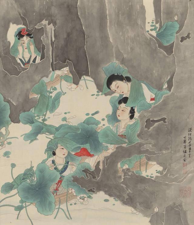 王永年师生书画作品展在四川内江张大千纪念馆开幕
