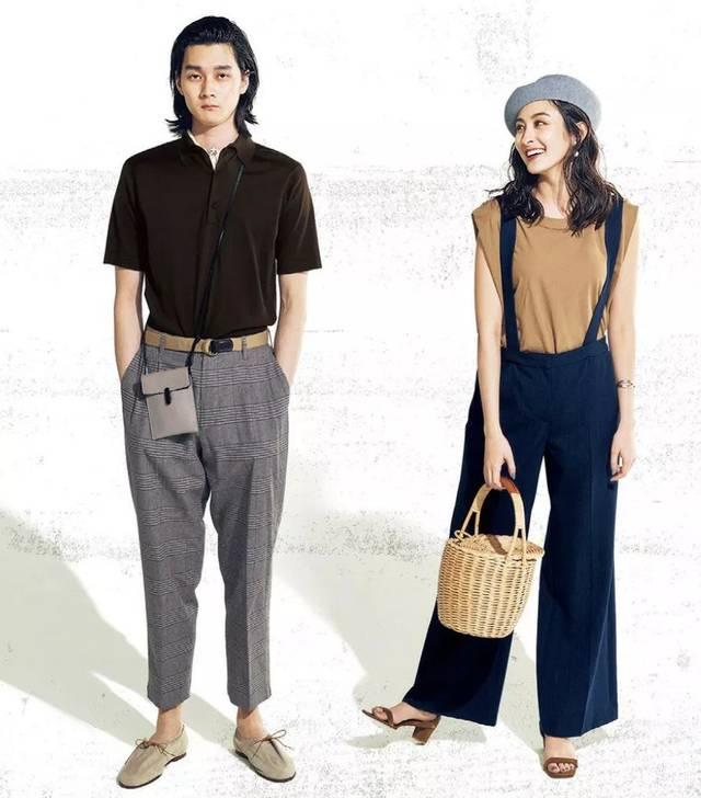 背带裤搭配甜美小物是时尚的秘诀