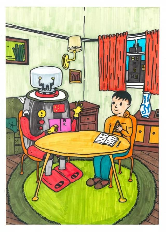 """""""童画新时代 手绘价值观""""少年儿童绘画比赛获奖作品公示"""