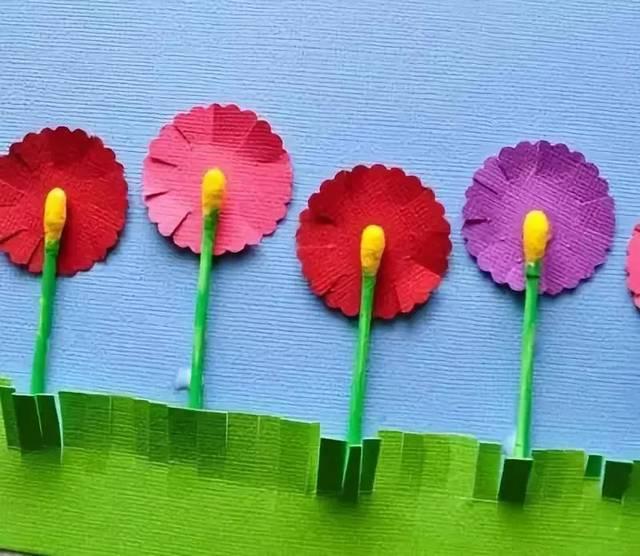 园花瓶手工制作