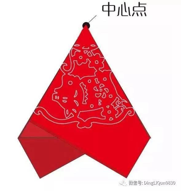 【剪纸手工】十二生肖与福禄寿喜财——三折法