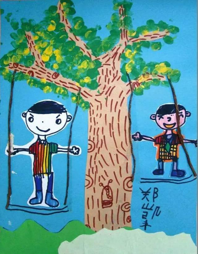小央美少儿美术:孩子学习绘画的规律,一定要让家长了解图片