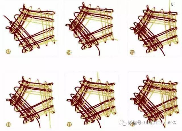 【中国结艺】92种常用的中国结的编法(附详细流程图)