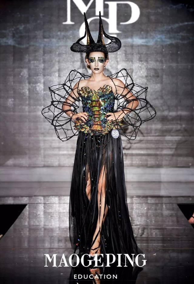 森灵魅影>——上海毛戈平形象设计2017秋季形象设计与艺术创意班毕业