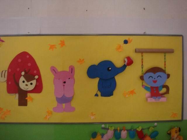 【手工环创】幼儿园三大类手工环创 吊饰图片