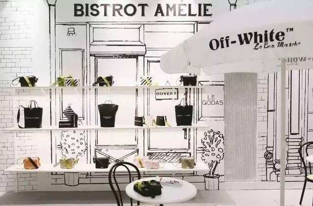 黑白手绘墙 宇宙级潮背景off-white单品  怎么拍都美的咖啡和有机食物
