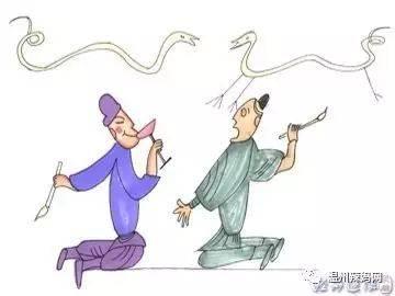 舔足故事_【听故事】成语故事系列——画蛇添足