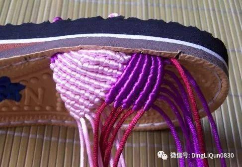 【编织编绳】休闲鞋,拖鞋,儿童鞋,袜子等多种方案图解