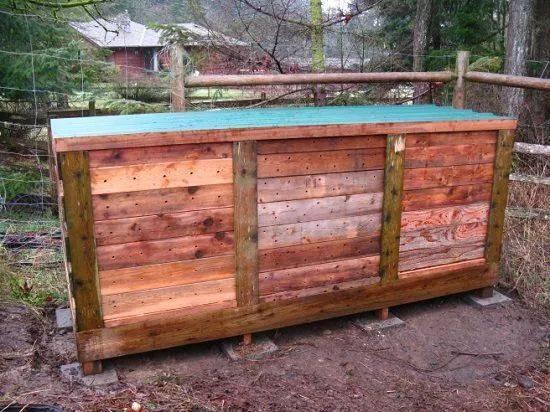 11个非常有创意的堆肥箱,用家里废弃的木板和塑料桶就能制作图片