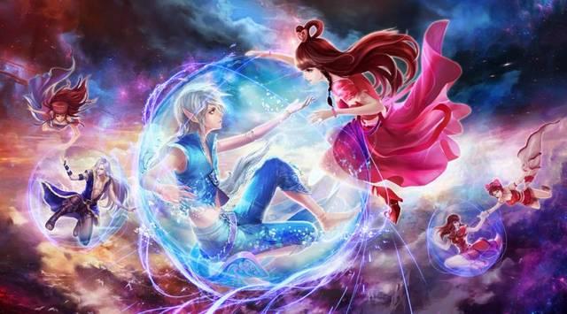 《精灵梦叶罗丽》孔雀跟冰公主的关系匪浅,罗丽的身份图片
