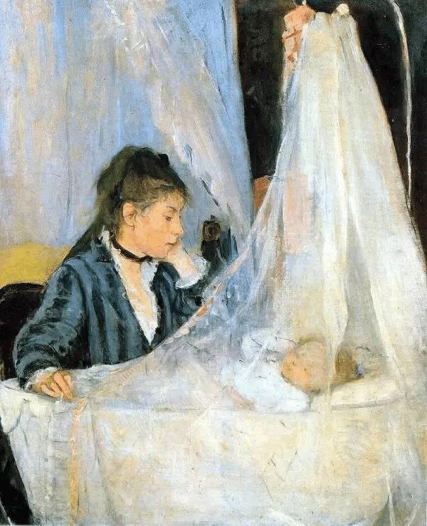 法国最出色的印象派女画家——贝尔特·莫里索作品欣赏