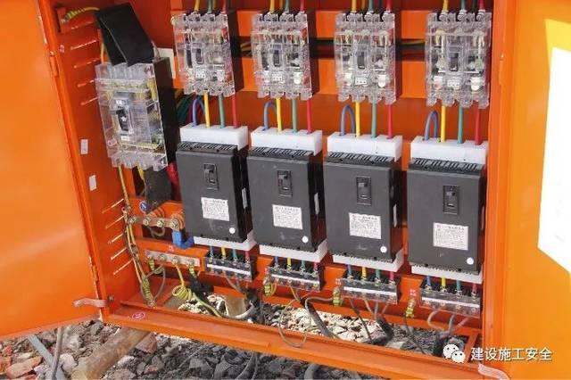 v环境后的二级配电箱加装了漏电保护器环境景观设计文献图片