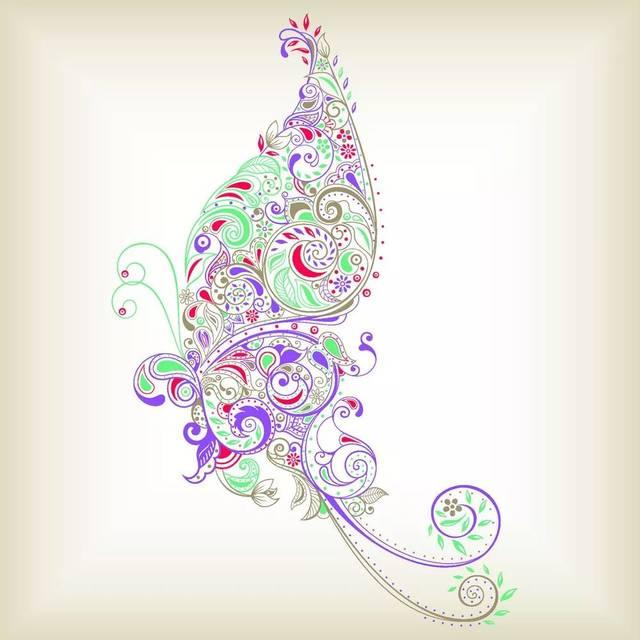 美图汇-漂亮的花纹图案