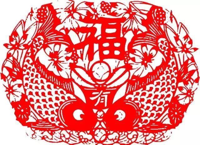 春节场景简笔画上色