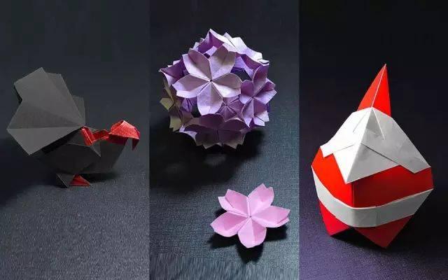 49:火鸡  50:樱花&樱花花球  51:圣诞老人  折纸指艺时代·良心折纸