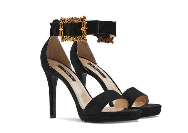 性感一字带高跟鞋,在工作约会逛街中,让你迈出优雅的步伐