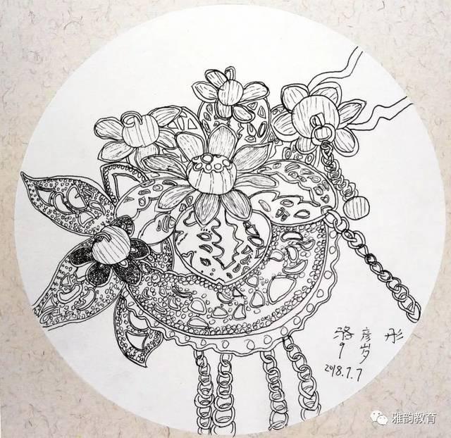 雅韵教育 | 美奈艺术暑期课程优秀作品集——卡通漫画图片
