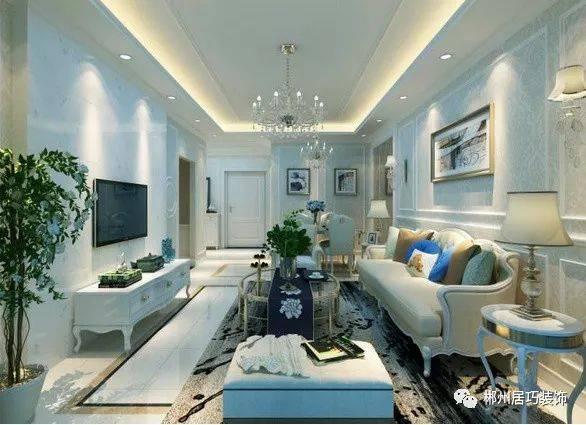 【装修赏析】简欧风格装修效果图 这样的简欧客厅设计图片