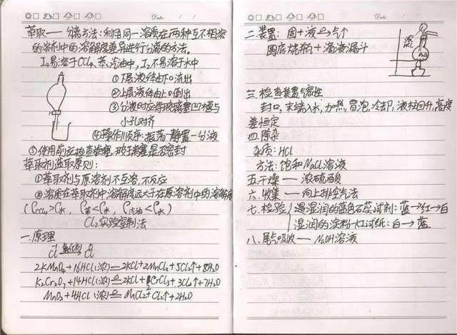 高中化学难?高考高中学霸必修满分!高中生后悔:表示看晚了录取线肥城市笔记2016图片