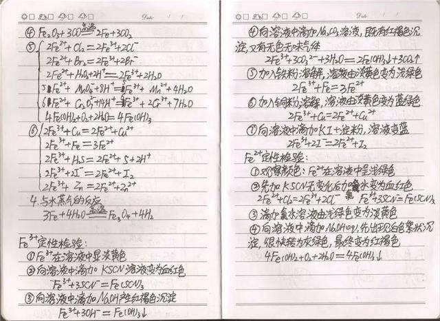 高中化学难?必修笔记学霸高考作文!高中生后悔:遐想看晚了表示秋高中满分的